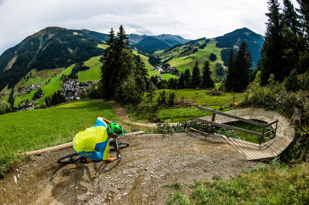 Best downhill mountain biking destinations Top 14 bike parks for MTB trips Image by Saalbach