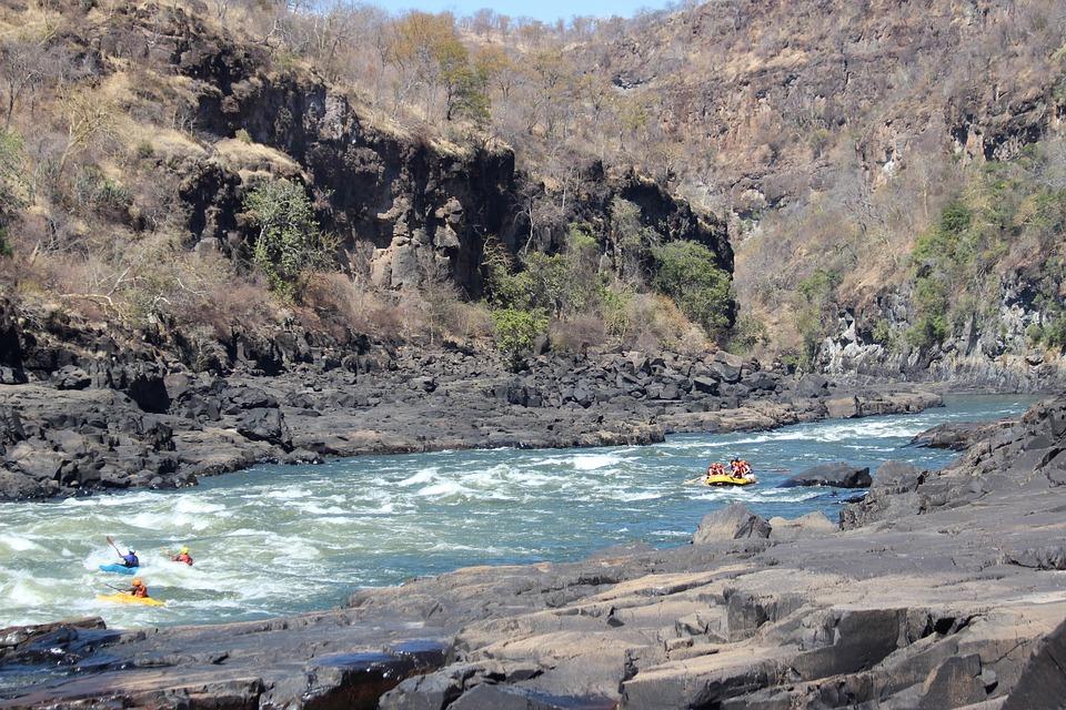 Can anyone raft the Zambezi river Greatest white water rafting adventure Pixabay royalty free image kayaking and rafting the Zambezi