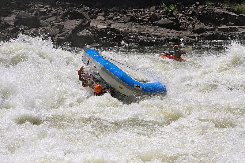 Can anyone raft the Zambezi river Greatest white water rafting adventure Wikimedia CC image by Martijn.Munneke
