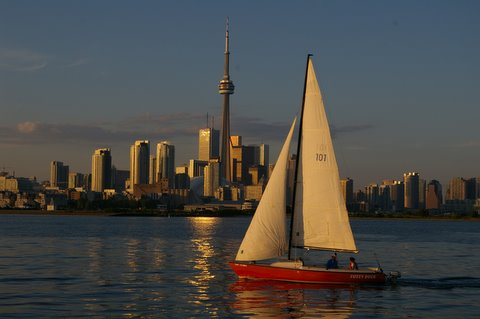 Sailing Toronto one of the best Ontario adventures on activity holidays in Canada Flickr CC image by mkooiman