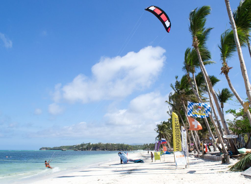 Boracay one of the best kitesurf spots worldwide kitesurfing holidays destinations flickr image by Ky6uk
