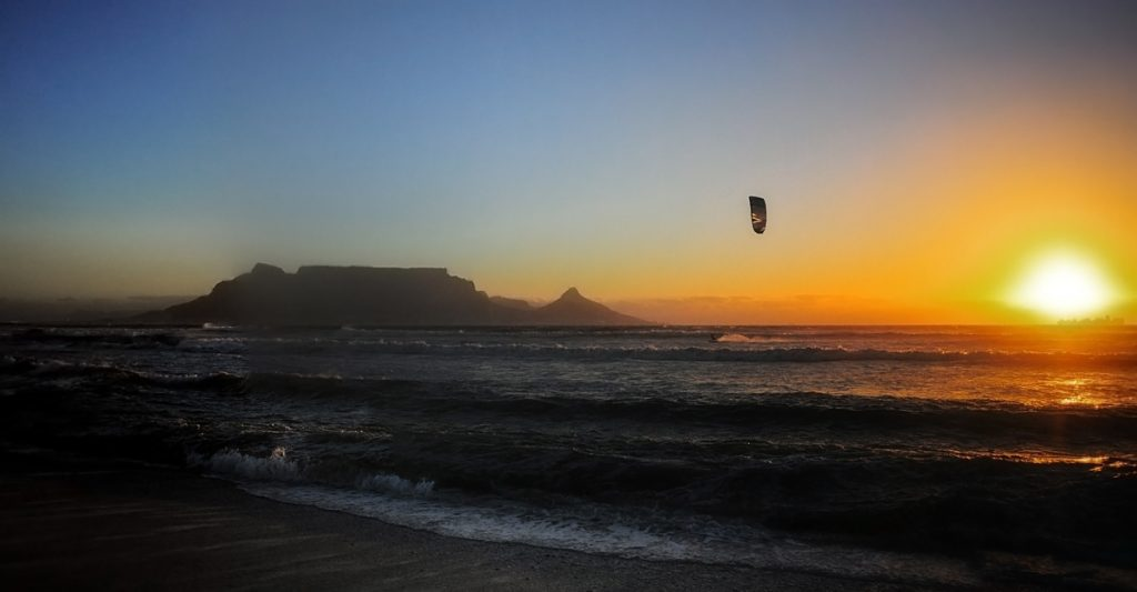 Cape Town one of the best kitesurf spots worldwide kitesurfing holidays destinations flickr image by carolune