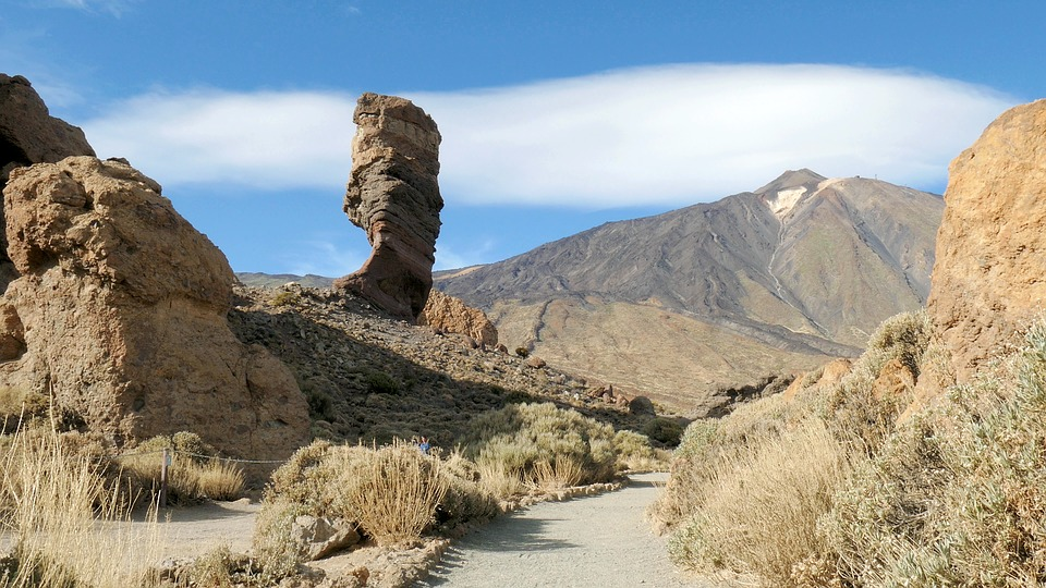 Canary Islands adventure holidays Guide to activities in the Canaries Mount Teide in Tenerife Pixabay Royalty free Image