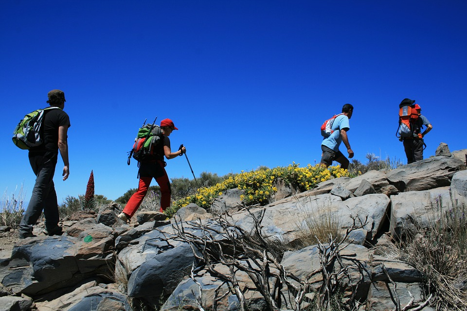 Canary Islands adventure holidays Guide to activities in the Canaries hiking Mount Teide Tenerife Pixabay royalty free image