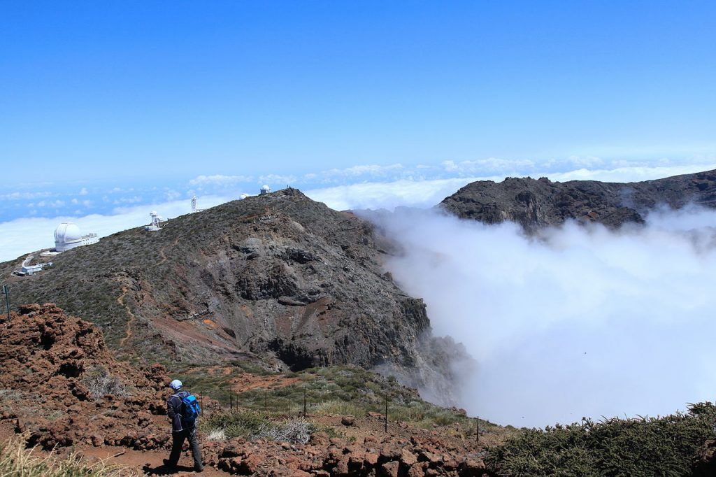 Canary Islands adventure holidays Hiking Roque de los Muchachos and the Observatory Wiki Commons image by Frank Vincentz