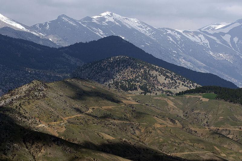 Turkey Taurus Mountains Toros Dağları, Saimbeyli wikicommons photo by Zeynel Cebeci