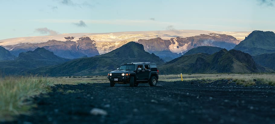 iceland thorsmork some of the best 4x4 driving in Europe Royalty free image from piqsels