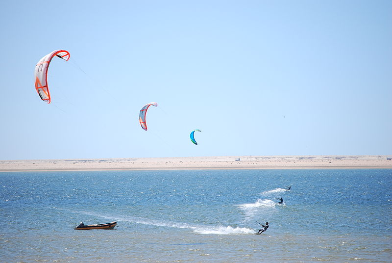 The best kept kitesurfing secrets Wikimedia CC image of Dakhla, Morocco by Nomadz