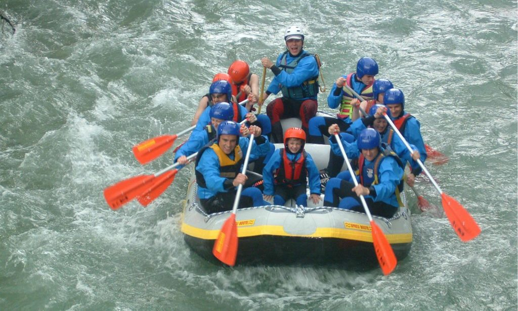 Bavarian summer adventures in Germany Rafting Image courtesy of R E T Berchtesgaden www.raft-mit.de