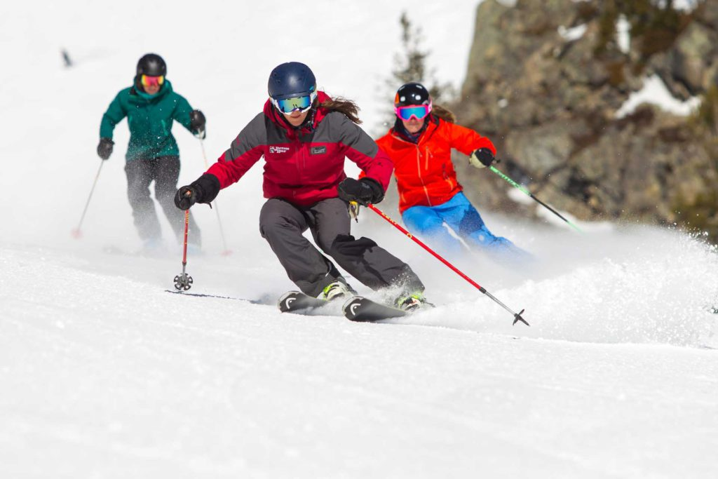 Jackson Hole Mountain Resort Ski School winter snowboarding skiing winter Image by Jackson Hole