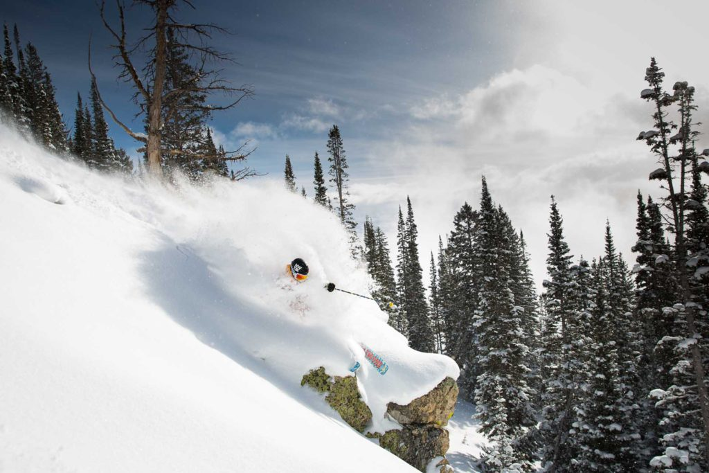 Off Piste in Jackson Hole Skiing-02 Image by Jackson Hole