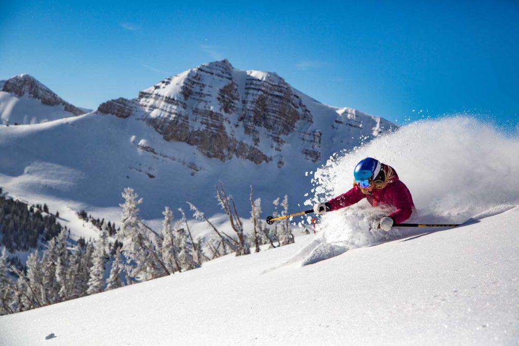 Jackson Hole Skiing holiday in Wyoming, USA Skiing-22 Image by Jackson Hole