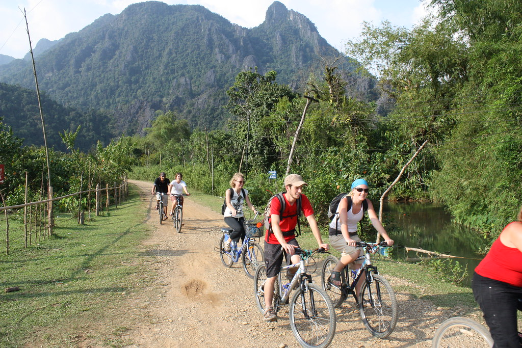 Guide to Laos cycling and mountain biking holidays Highlands & lowlands Flickr CC image by n.hewson