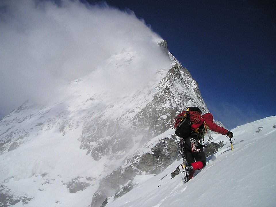 Cheap adventure holidays: 28 tips for budget adventures - Flickr cc image of mountaineering by Freesolo Adventures