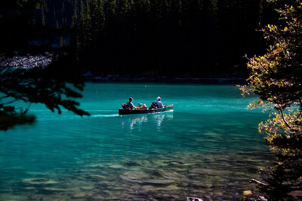 How to canoe safely in the dark Pxhere Royalty free image from Lake Louise, Alberta, Canada