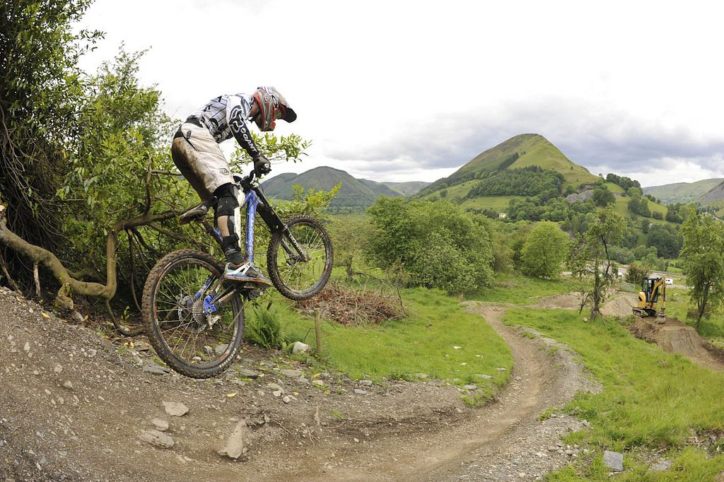 Cheap UK adventure holidays MTB in Wales Flickr CC image by  DaiSliders