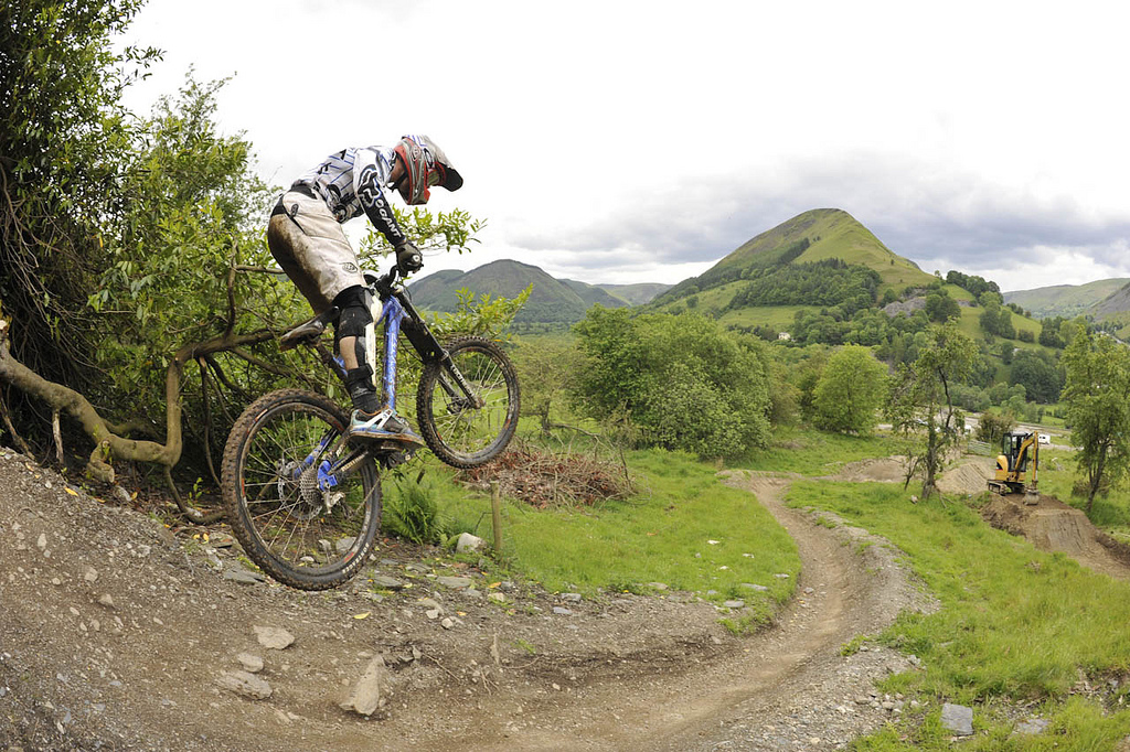 11 best UK family adventures: British activity holidays with kids Flickr CC image from bike park wales by DaiSliders
