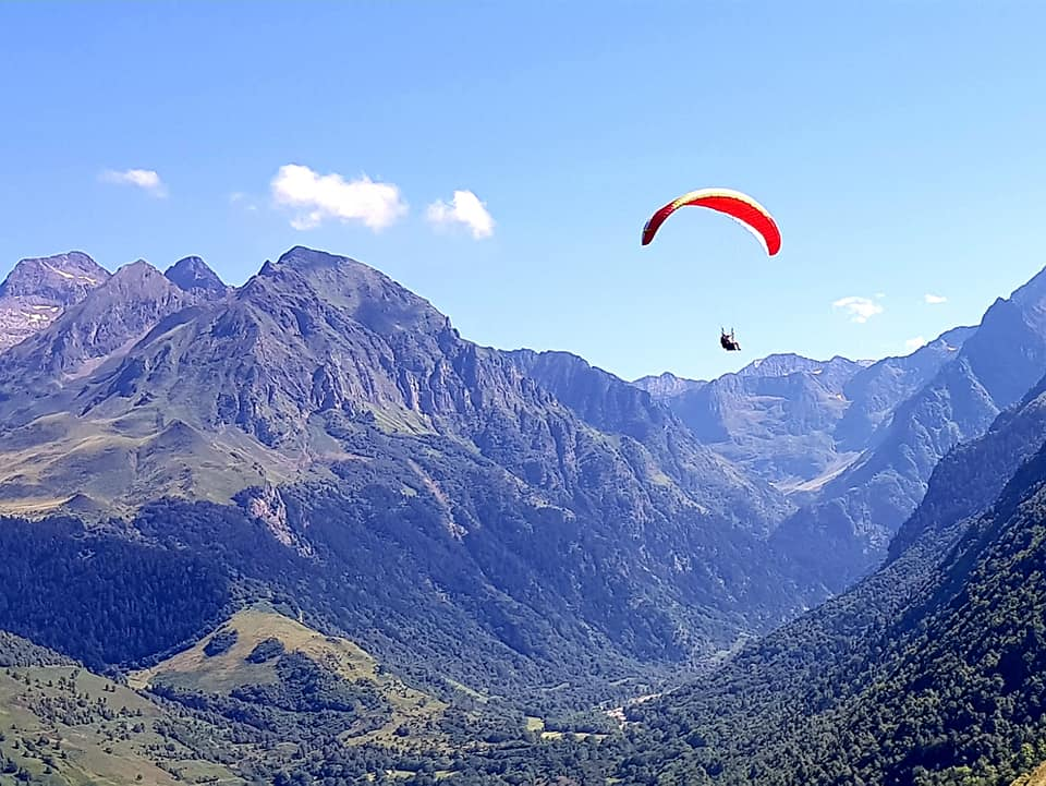 Paragliding in Louron Valley perfect for Over 50s adventure holidays: Best adventures for an older crowd