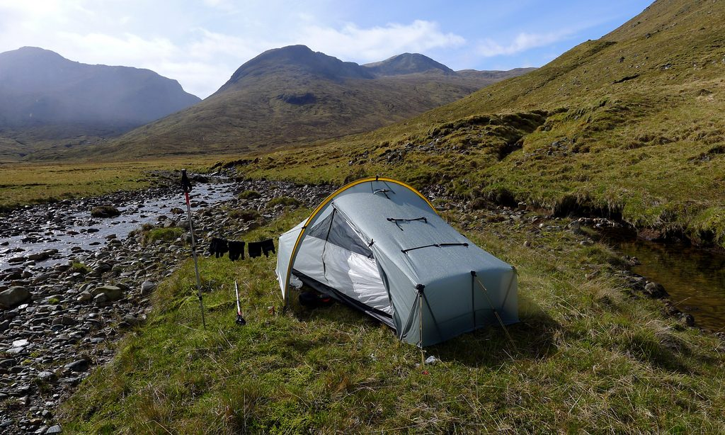 Wild camping in Scotland one of the best British budget outdoor breaks Flickr CC image by Nick Bramhall