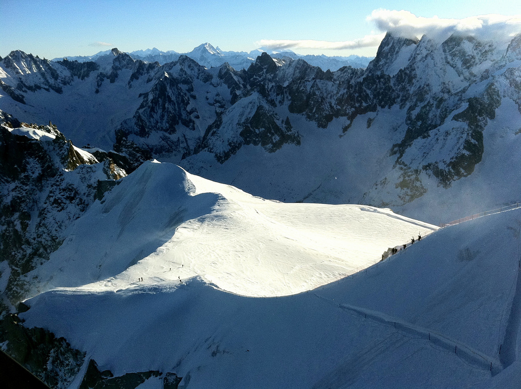 Skiing holidays in France: Chamonix one of the 13 best French ski resorts Flickr CC image by TRAILSOURCE com