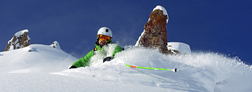 Skiing holidays in France La Plagne one of the 13 best French ski resorts Image copyright La Plagne Tourisme