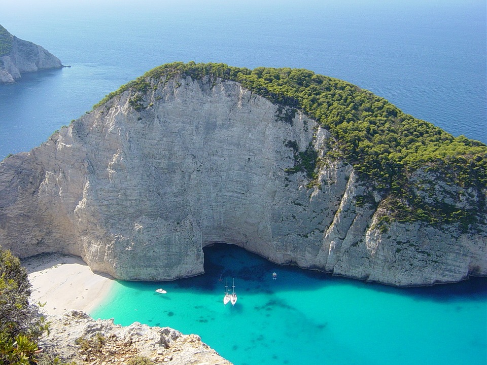Zante one of the 7 best Greek Islands for sailing holidays Pixabay royalty free image