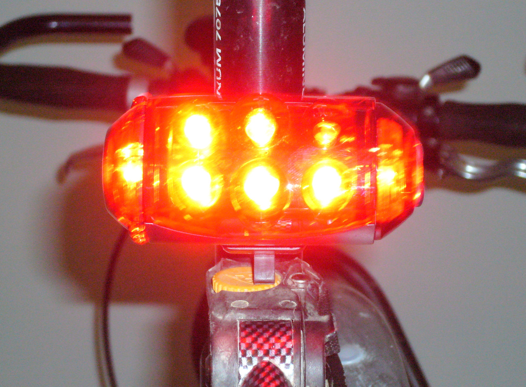 Guide to buying bike lights Types of cycle lights Flickr CC image by clagnut
