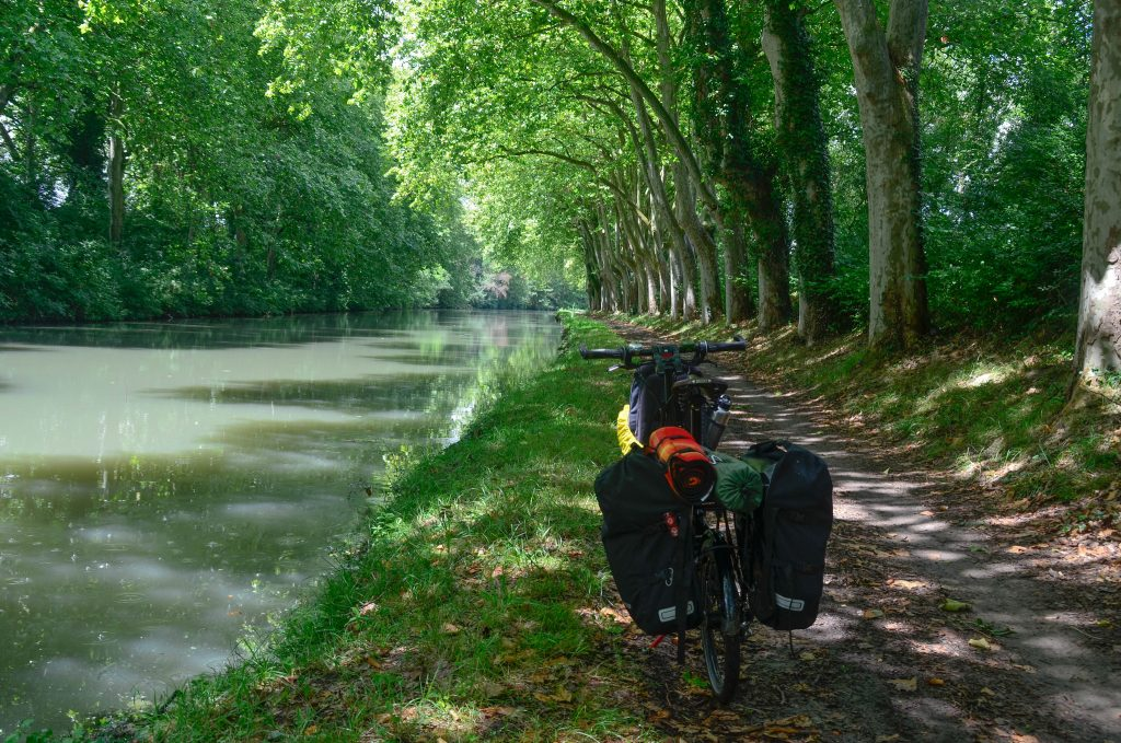 Canal du midi one of the best Multi-day MTB routes in France Flickr CC image by camilo g. r.