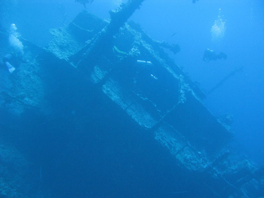 Egypt scuba diving holidays 9 best dive sites in Egypt Flickr CC image of Numidia Wreck by Maarten Drossaert