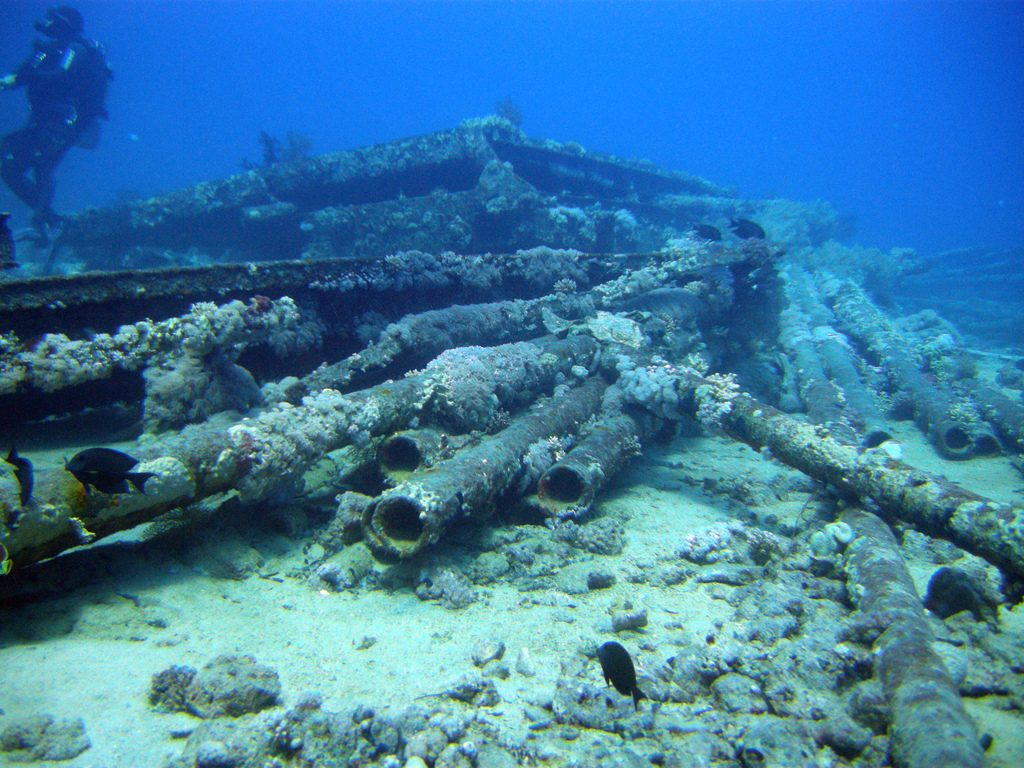 Egypt scuba diving holidays 9 best dive sites in Egypt Flickr CC image of Yolanda Wreck by mattk1979