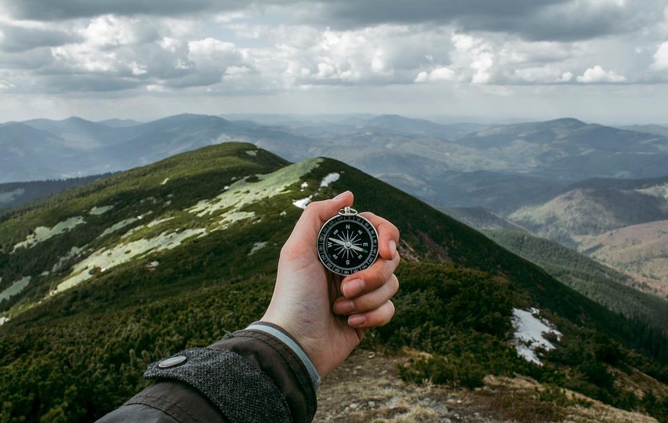 Basic compass skills for hikers pixabay royalty free image