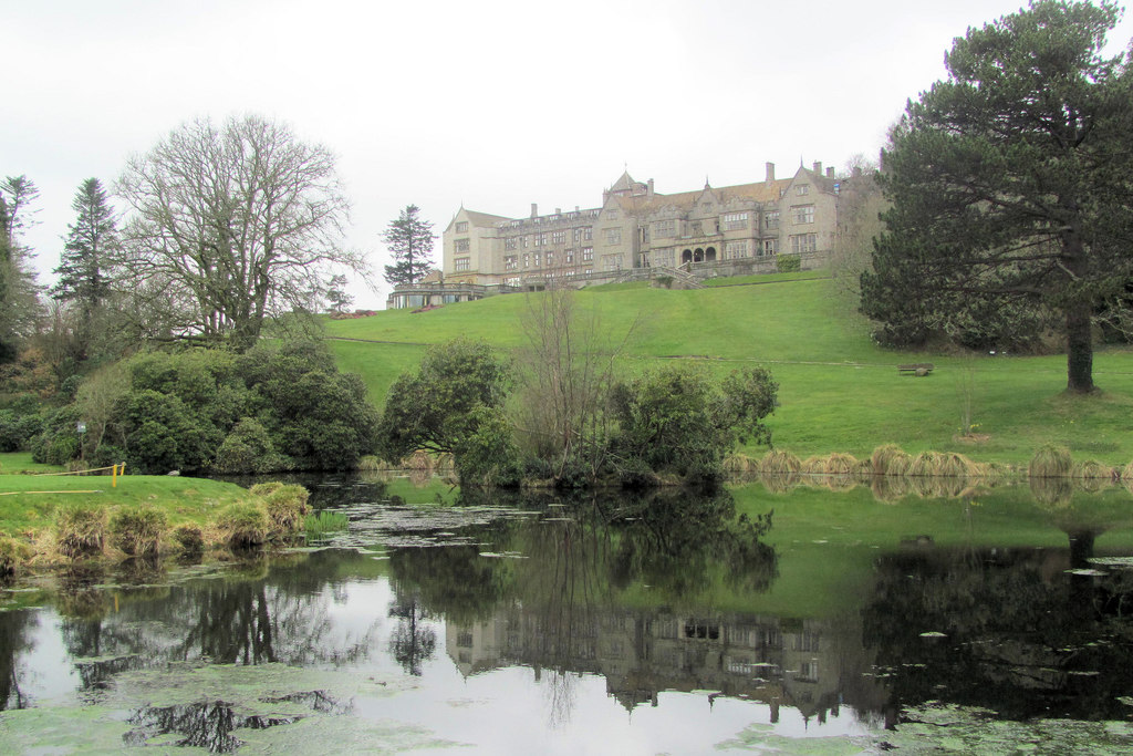 Bovey Castle Dartmoor one of the best UK spa & adventure staycation ideas for British outdoor activities & relaxation Geograph CC image by Chris Reynolds