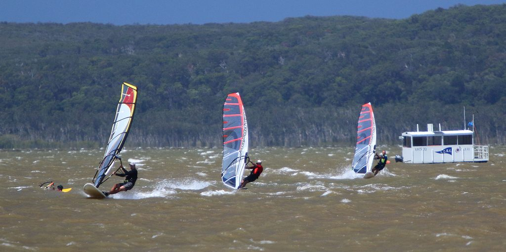 12 best safe countries for active holidays windsurfing in Australia Flickr CC image from Australia by texaus1