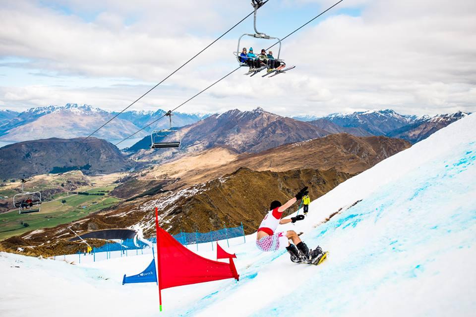 Coronet Peak one of the best NZ ski resorts image from Lib Tech Banked Slalom 2016 Coronet Peak facebook