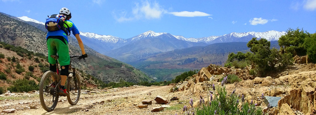 Guide to Marrakech mountain biking holidays Best MTB in Morocco Image copyright of Freeridemorocco.com