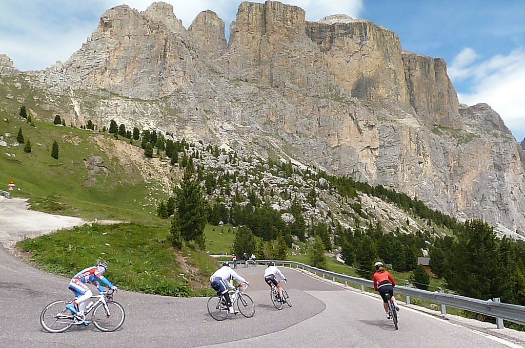 Italian bike tours Gastronomic cycling holidays in the Dolomites flickr CC image by Jussarian