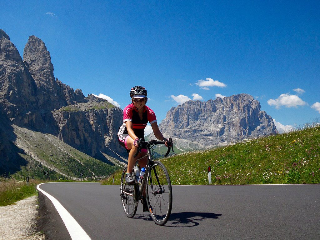 Italian bike tours Gastronomic cycling holidays in the Dolomites flickr CC image by Monica Guy