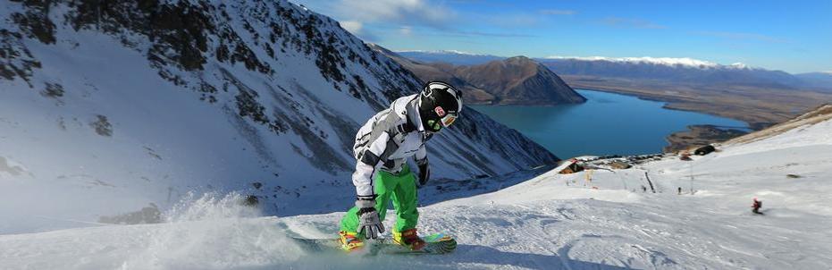 Ohau one of the best NZ ski resorts for New Zealand snowboarding holidays