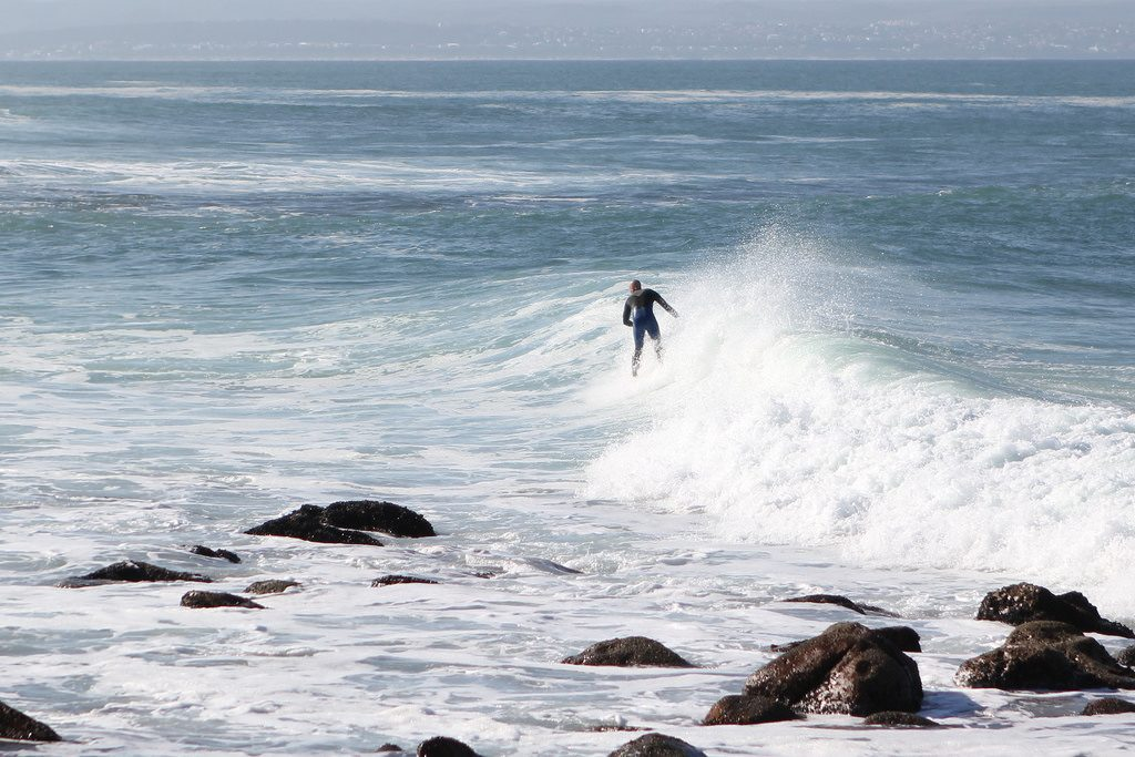 South Africa surfing holidays. Mossel Bay one of the best SA surf spots Flickr CC image by Jochem Koole