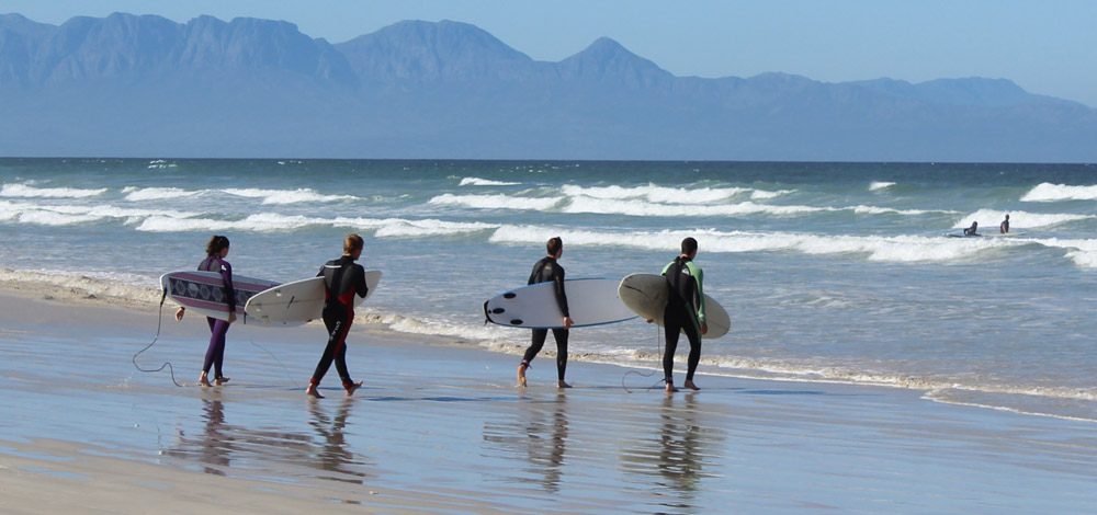 South Africa surfing holidays. Muizenberg one of the best SA surf spots Flickr CC image by African Budget Safaris