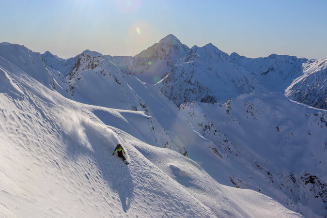 Temple Basin one of the best NZ ski resorts for New Zealand snowboarding holidays