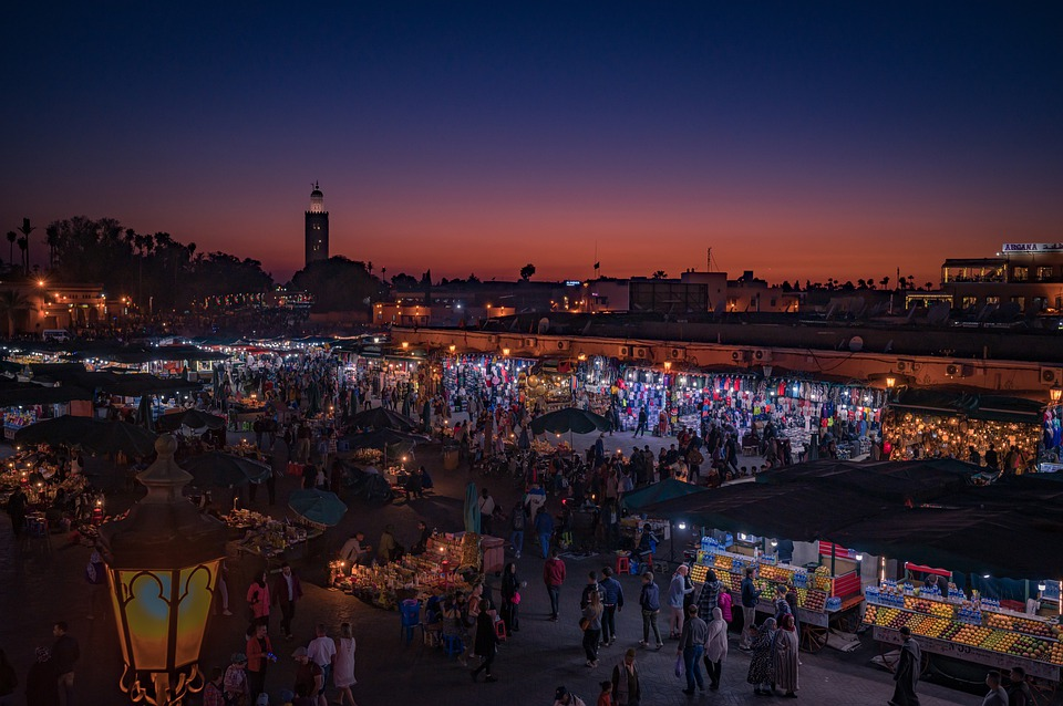 marrakech Jemaa el Fna Square Pixabay royalty free image
