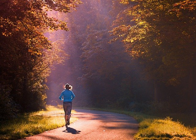 running is a great way to get Training for activity breaks Pixabay royalty free image