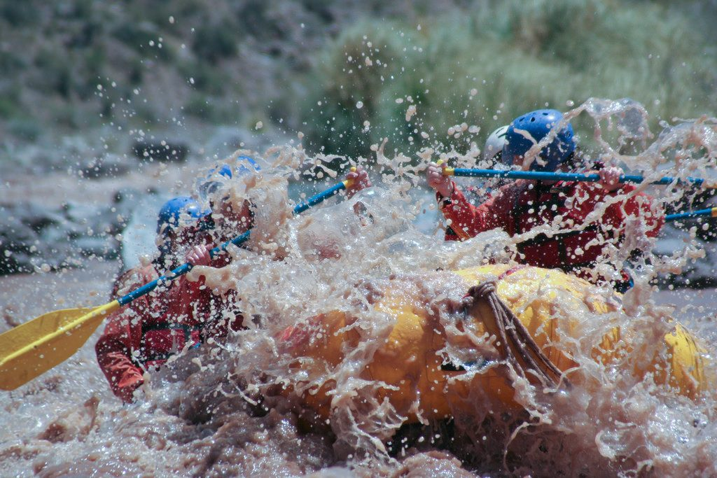Adventures with kids 11 best family adventure holidays Rafting in Argentina flickr CC image by alq666