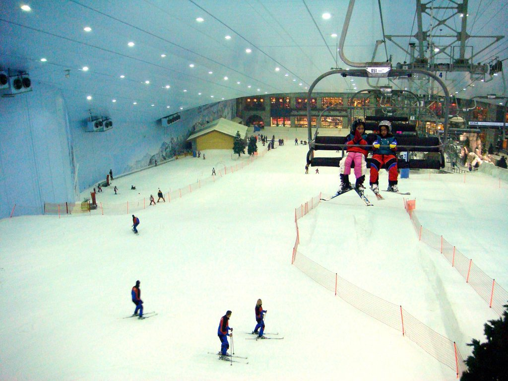 Adventures with kids 11 best family adventure holidays ski dubai flickr CC image by y jonrawlinson