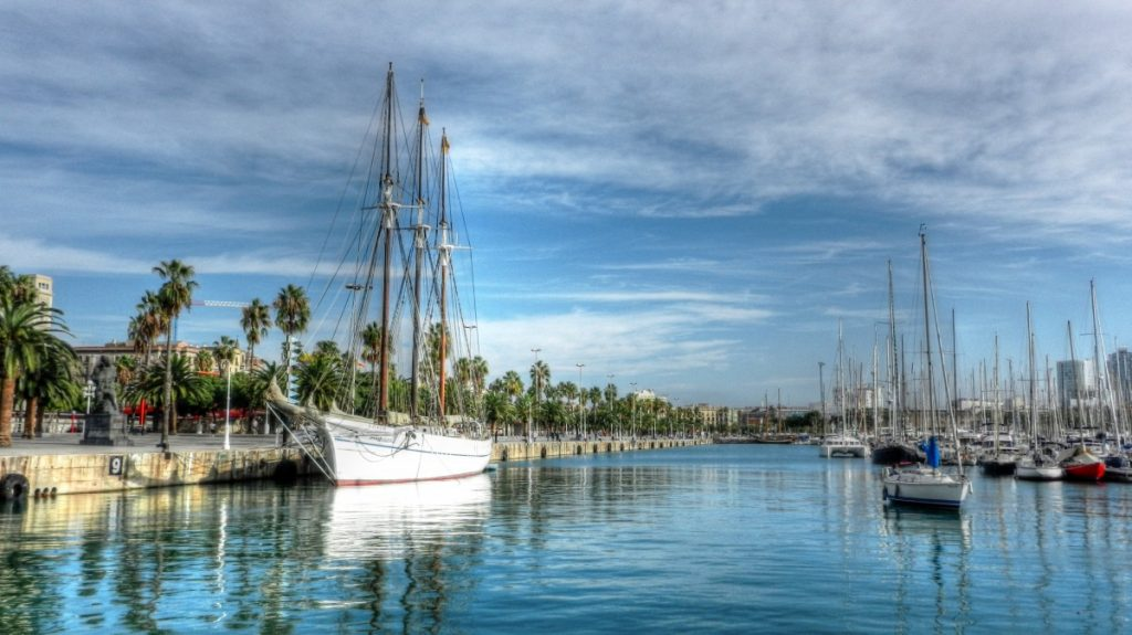 Barcelona gateway to Costa Brava yacht charters pxhere royalty free images