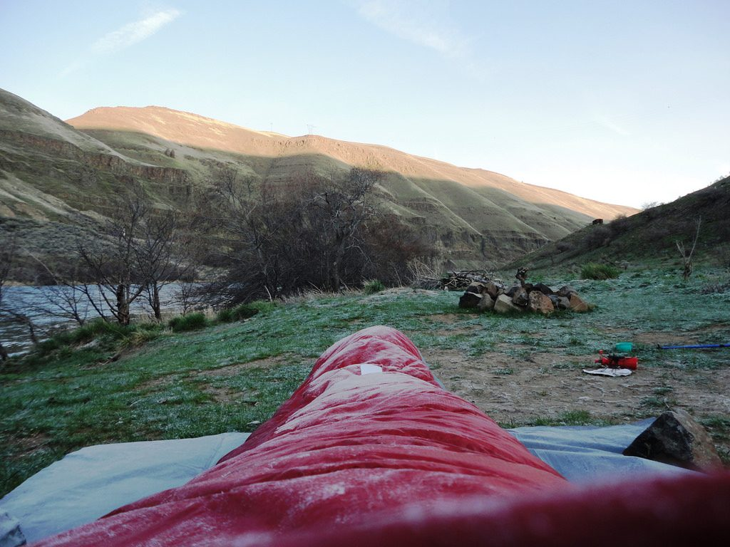 Camping sleeping system How to buy a sleeping bag flickr CC image by JesseLeeRoper