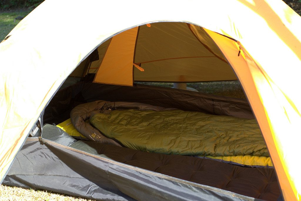 Camping sleeping system How to buy a sleeping bag flickr CC image by jalexartis