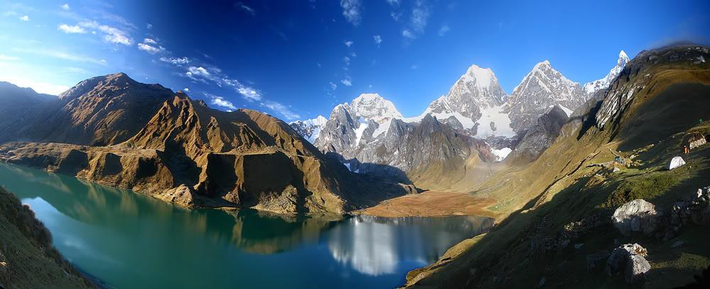 Peruvian trekking holidays Huayhuash trek one of the 10 best treks in Peru Flickr CC image by Paul Tomaz