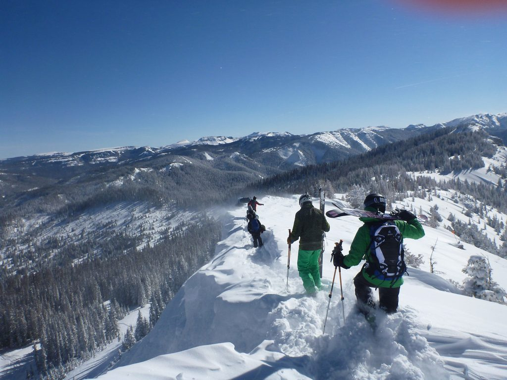 USA skiing holidays Wolf Creek one of the best United States ski resorts Flicker CC image by rtadlock